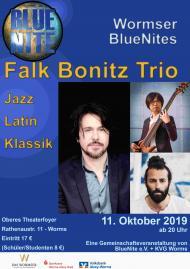 Christoph Stiefel Trio BlueNite e. V. KVG Worms Das